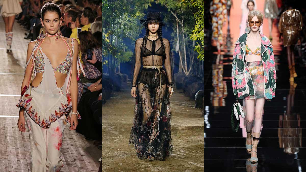 Modetrends lente zomer 2020. Beha in zicht