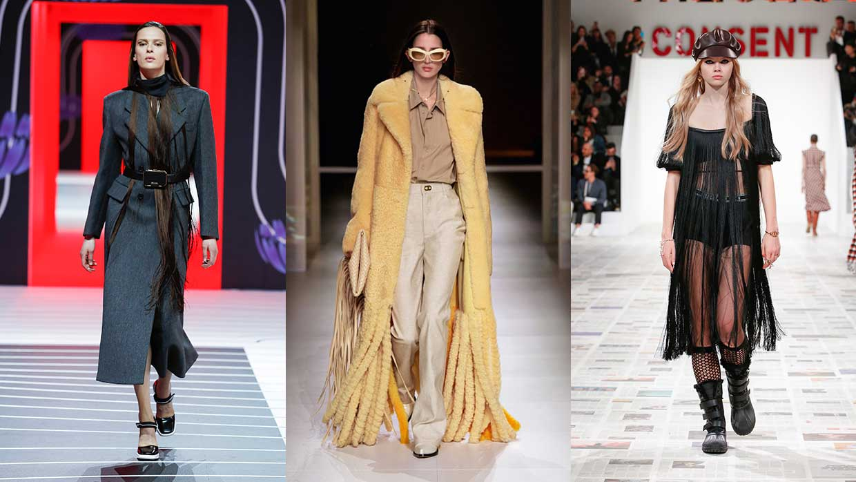 Modetrends winter 2020 2021. De franje trend