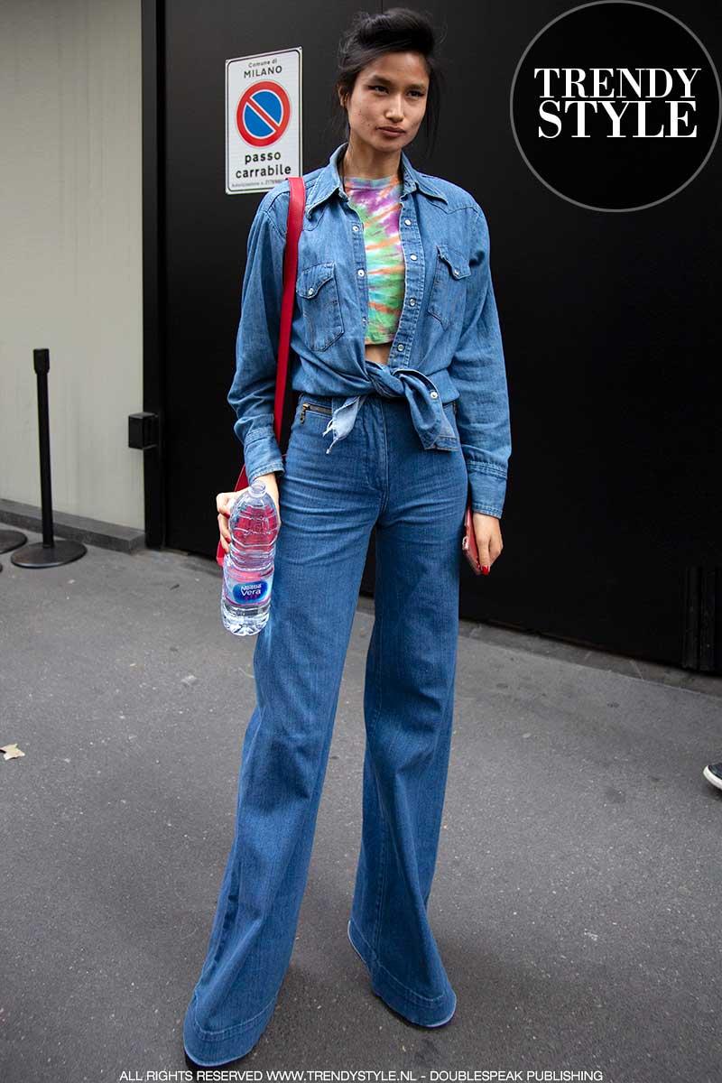 Streetstyle mode trends zomer 2020. Inspiratie van de fashion modellen