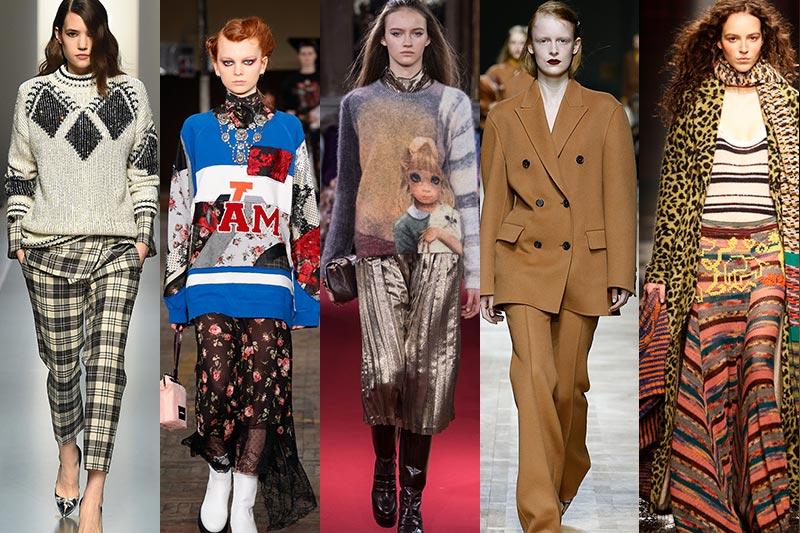 5 Modetrends herfst winter 2018 2019