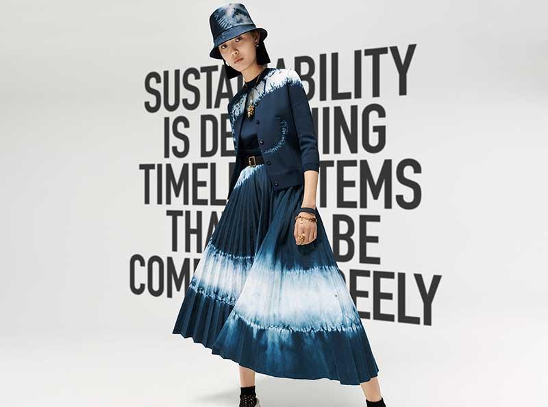 Modetrends herfst 2020. Tie dye denim en meer
