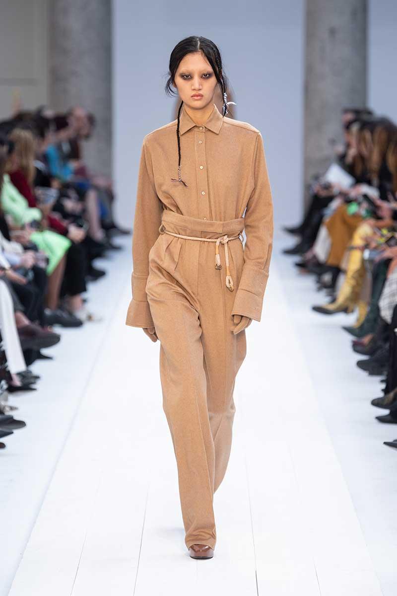 Modetrends herfst winter 2020. Oversize winterbroeken met hoge taille