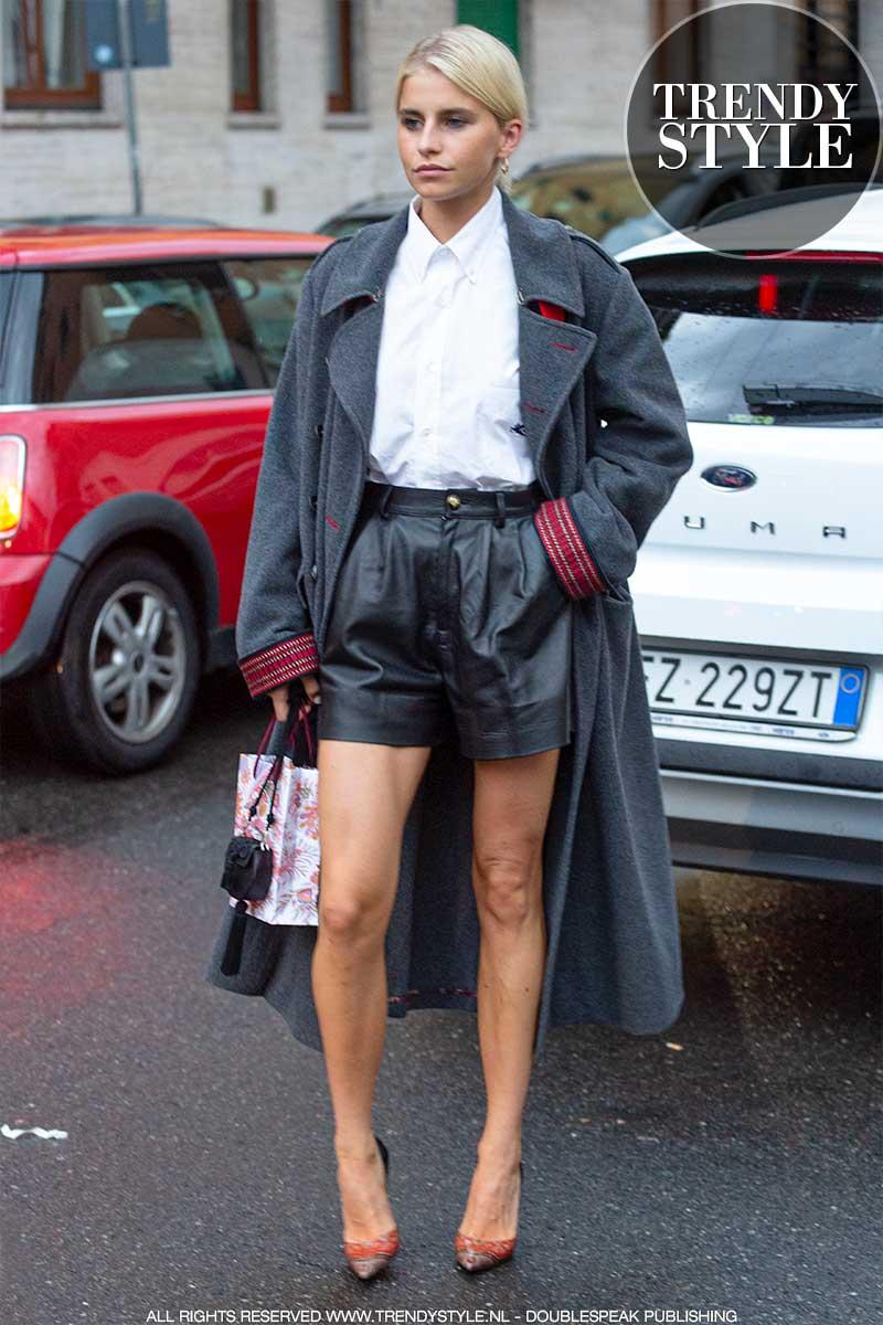 Streetstyle mode winter 2020. 3x Outfits van influencer Caro Daur. Mode ideeën