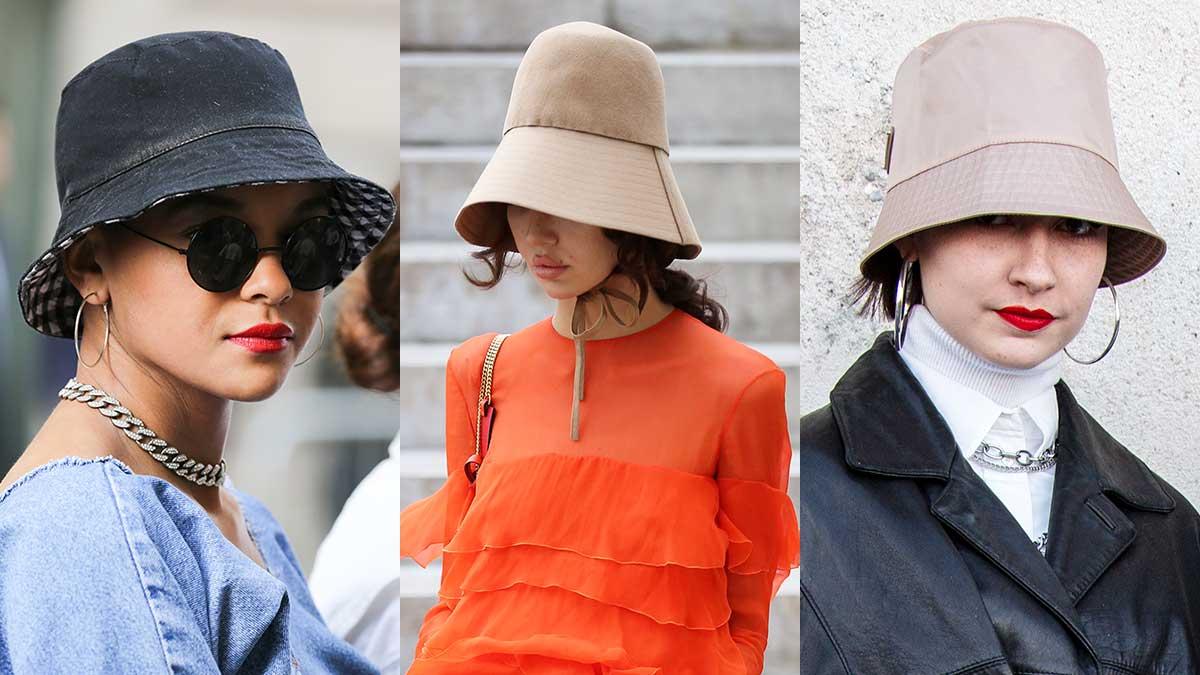 Modetrends zomer 2020. 25 Jaar bucket hats. Vissershoedjes
