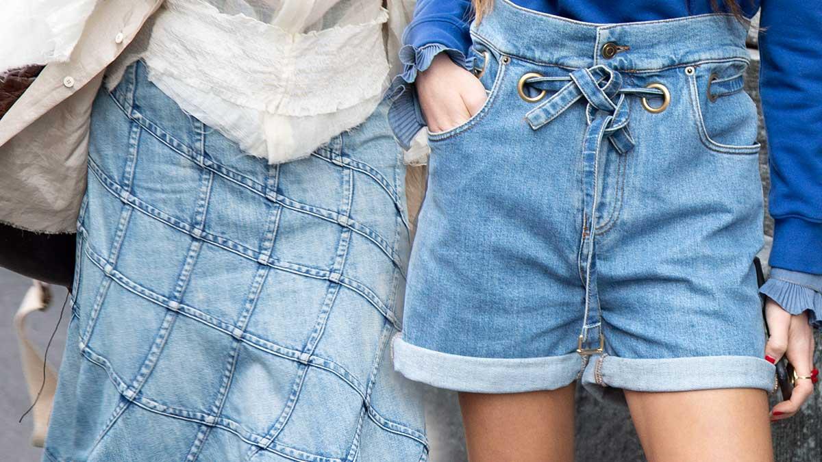 Modetrends 2020. Update je oude spijkerbroeken volgens de allernieuwste modetrends 2020
