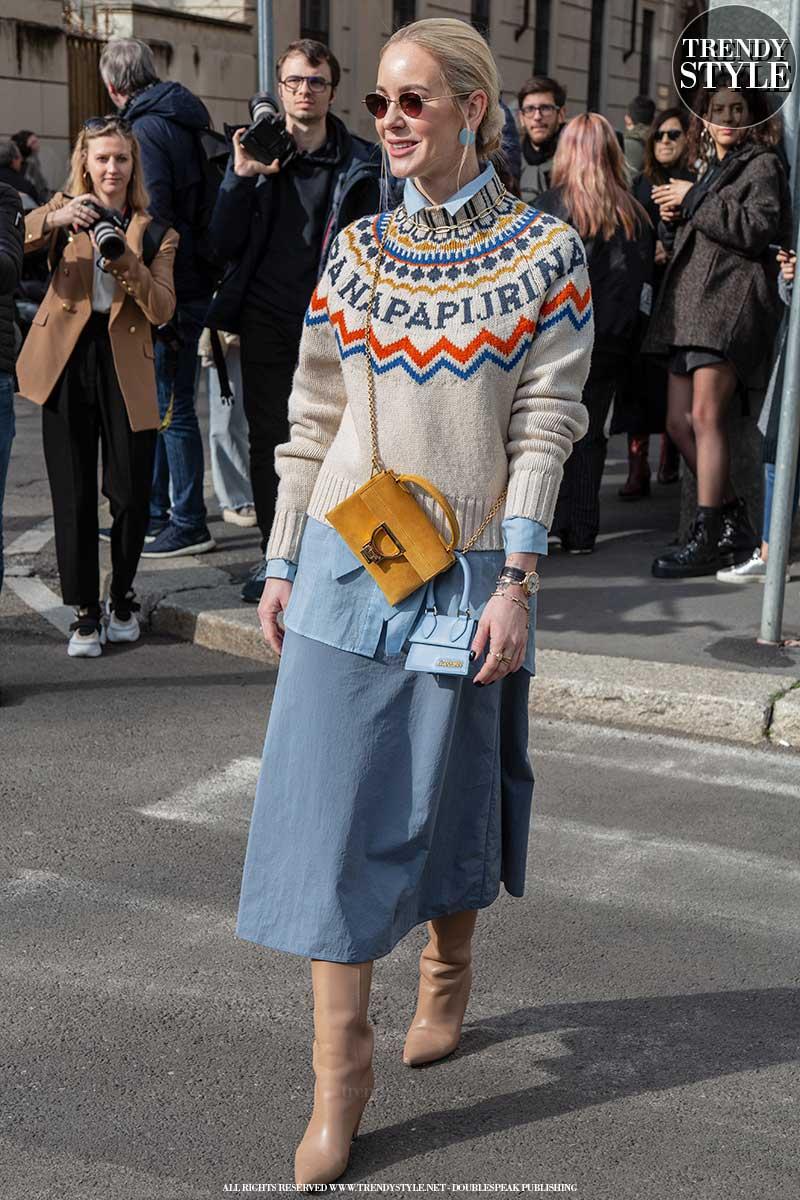 Streetstyle mode zomer 2020. Spijkergoed en denim trends
