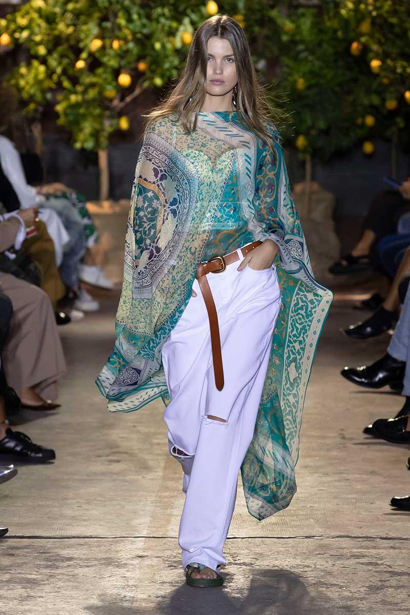 Modetrends 2021. Spijkerbroeken