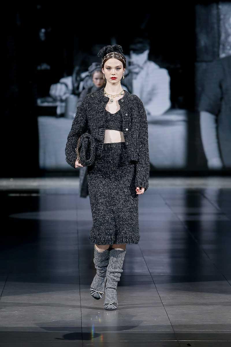 Modetrends 2020 2021. Het wordt een warme, wollige winter. Knitwear is dé trend