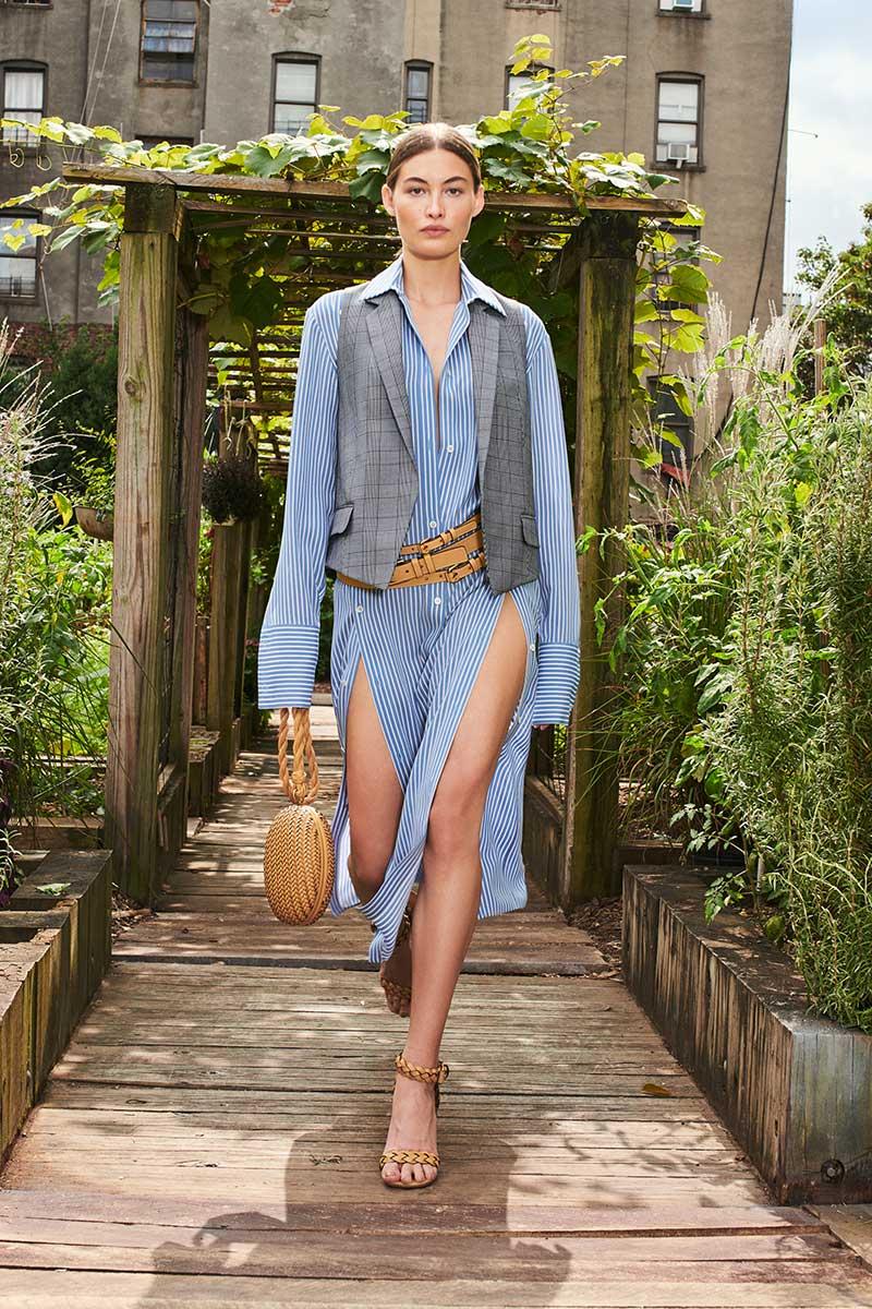 Modetrends lente zomer 2021. Trend alert: overhemdjurken