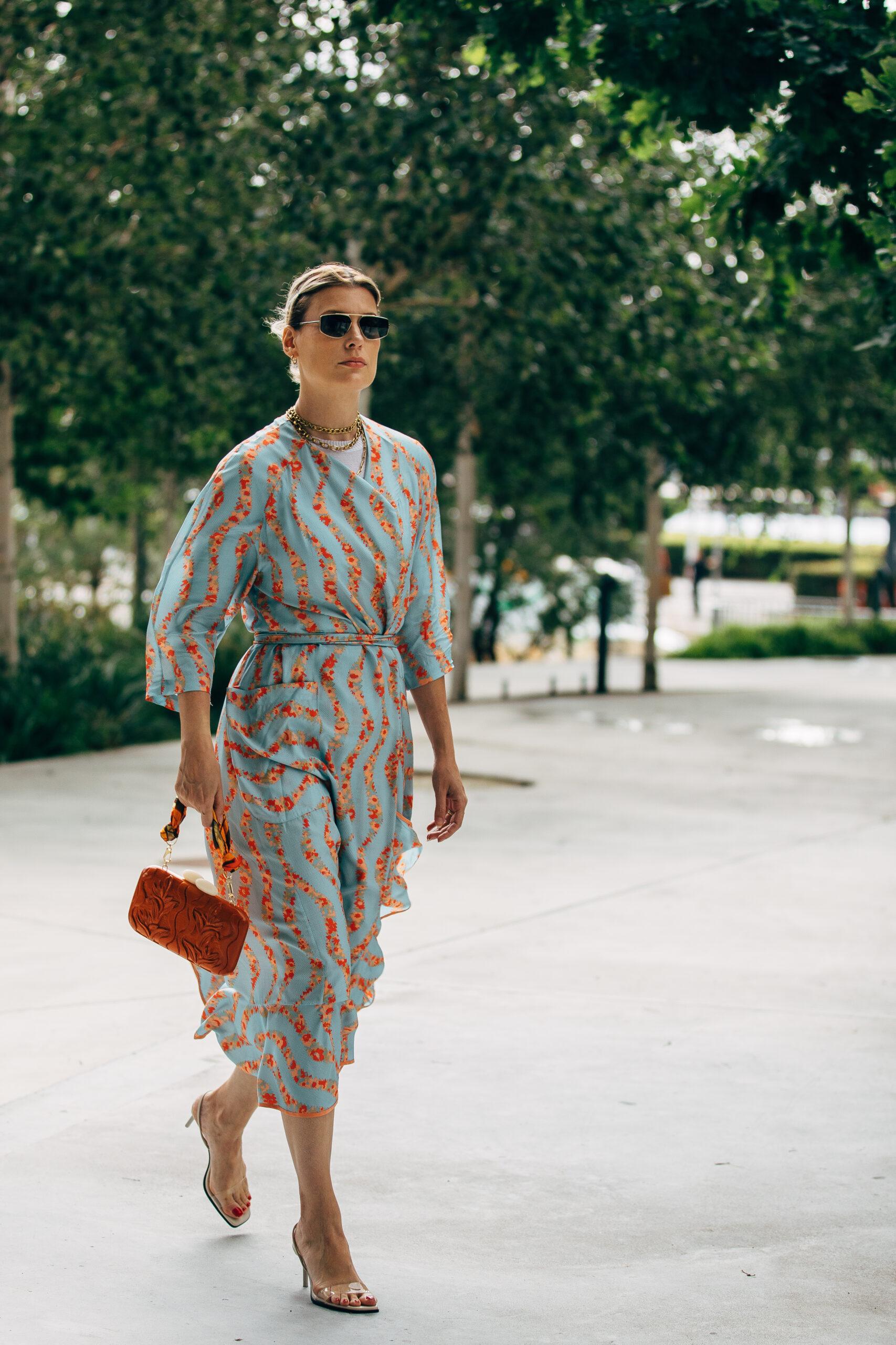 Modetrends zomer 2020. Lange zomerjurken