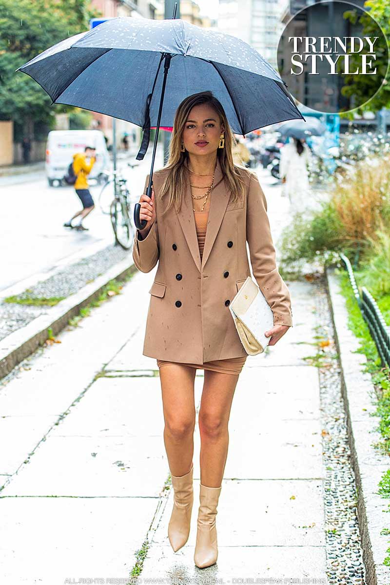 Modetrends voorjaar zomer 2021. Minirokken