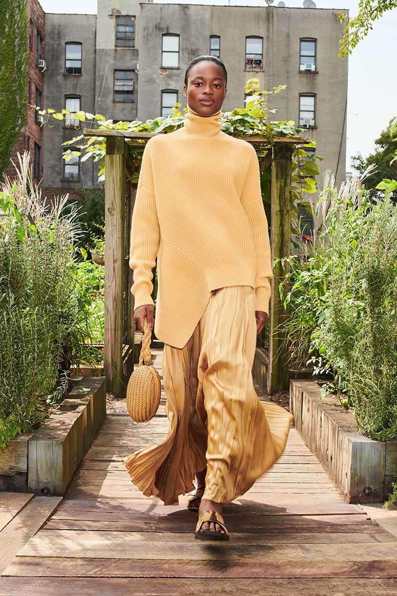 Modetrends 2021. Vier de lente in het (paas)geel