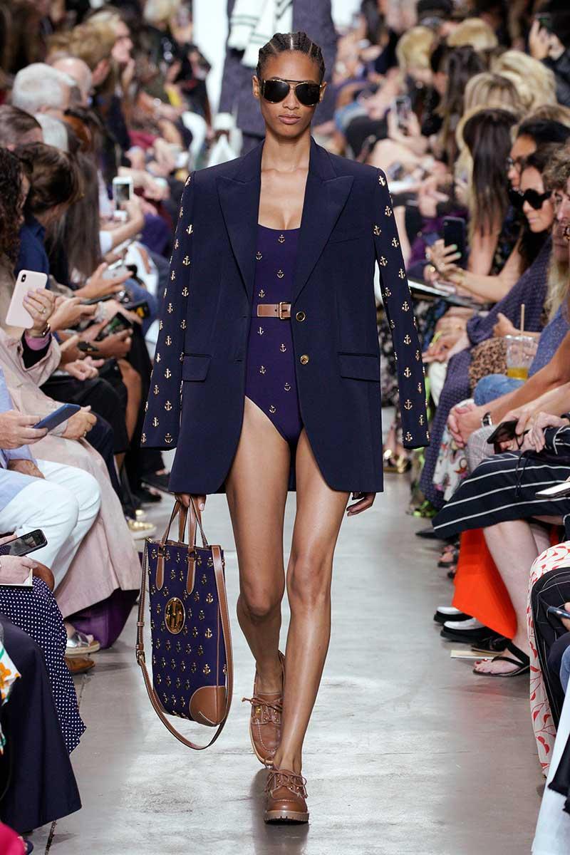 Modetrends zomer 2020. Marine-looks