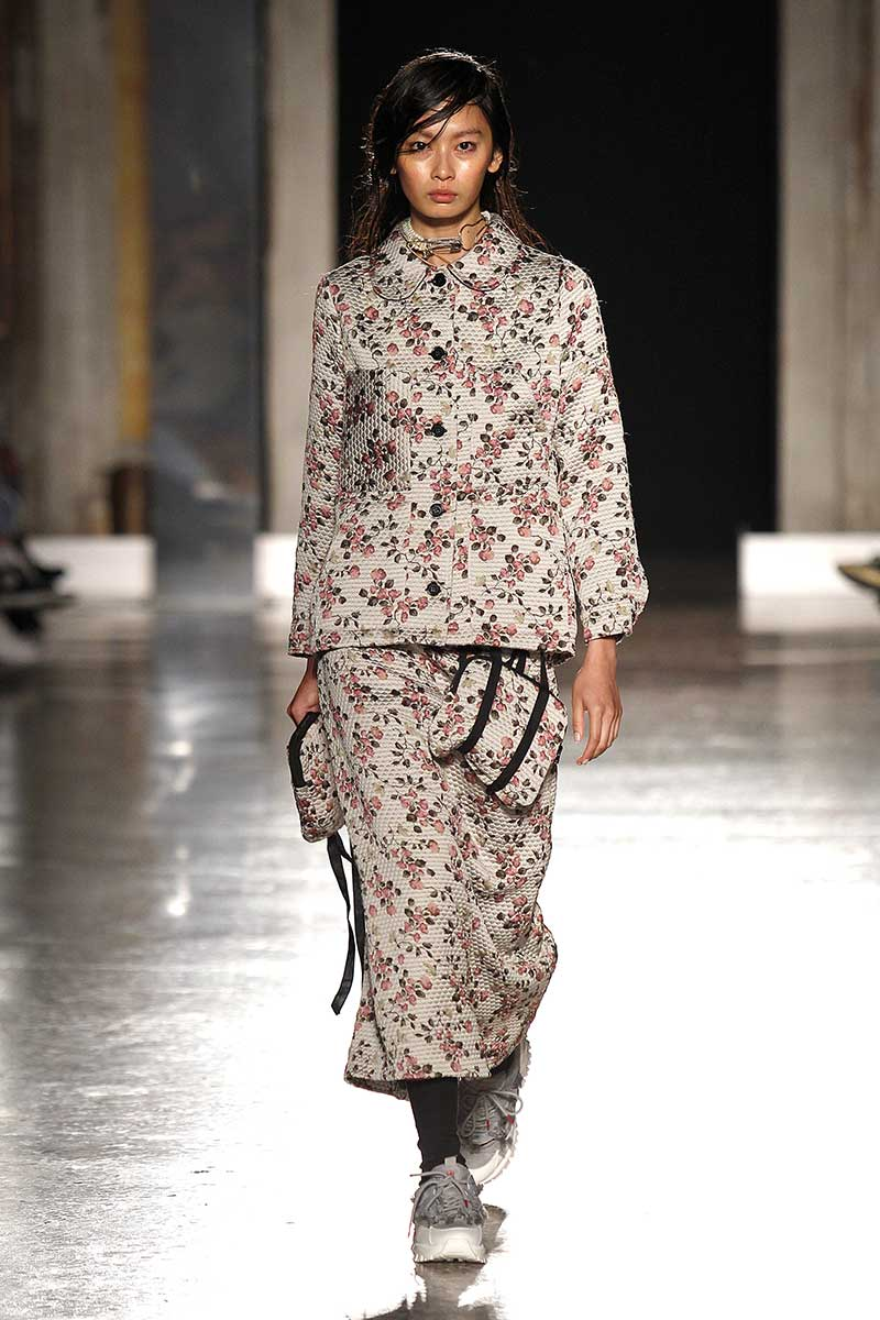 Modetrends voorjaar 2020. Micro-bloemetjes prints