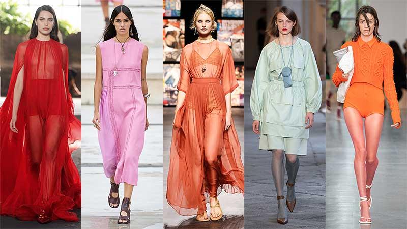 Modetrends 2021. De nieuwste modekleuren