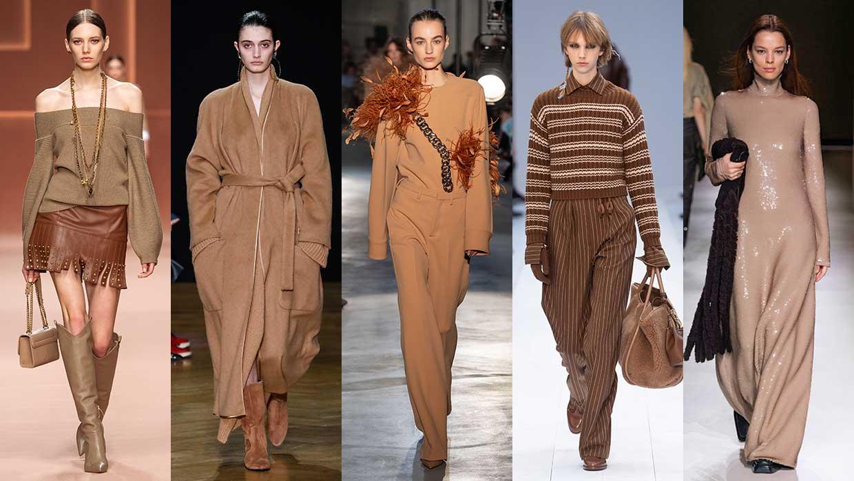Modetrends winter 2020 2021. Naturel kleuren zijn on-trend