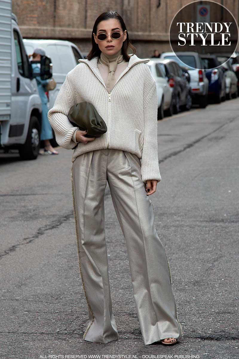 Streetstyle trends winter 2020. Supercool in pak. Ga voor neutrals! 11 Stijltips