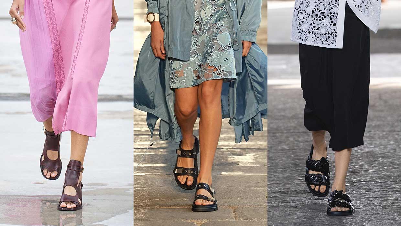 Schoenentrends 2021. Dit zijn de coolste sandalen voor lente zomer 2021