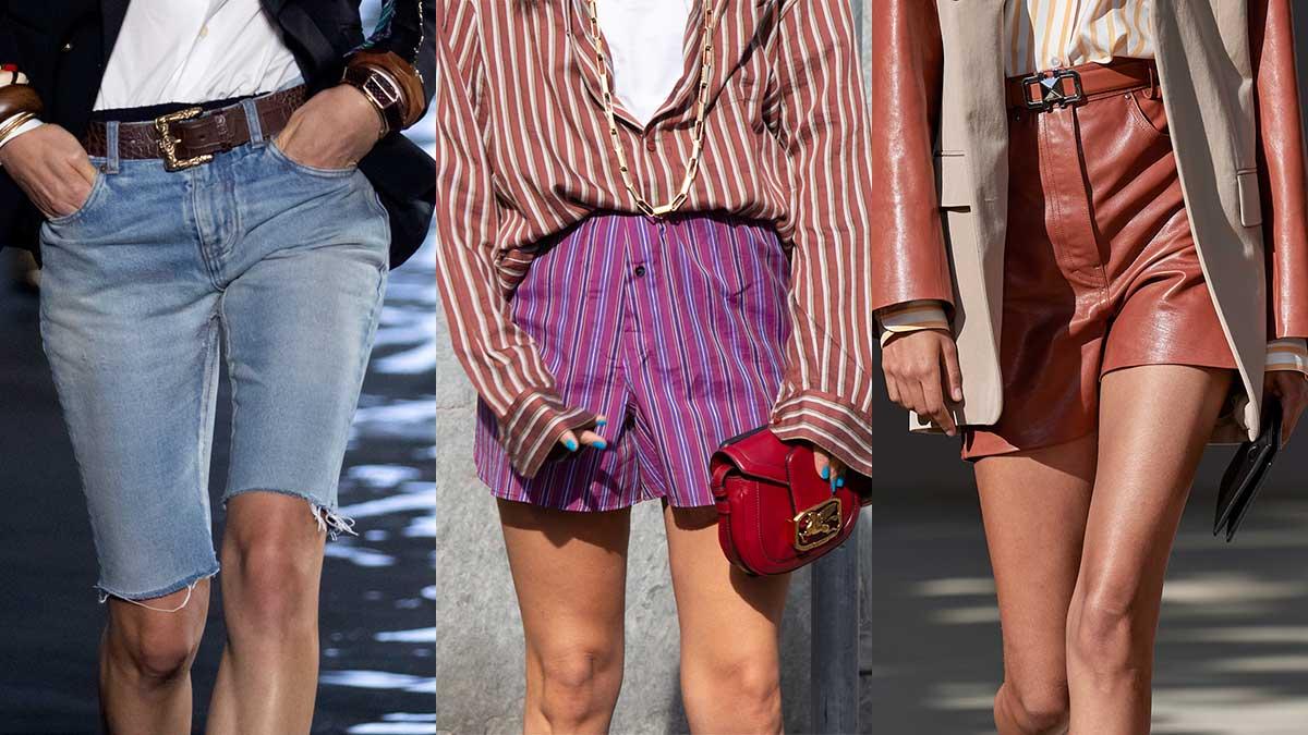 Modetrends lente zomer 2020. Shorts en korte broeken