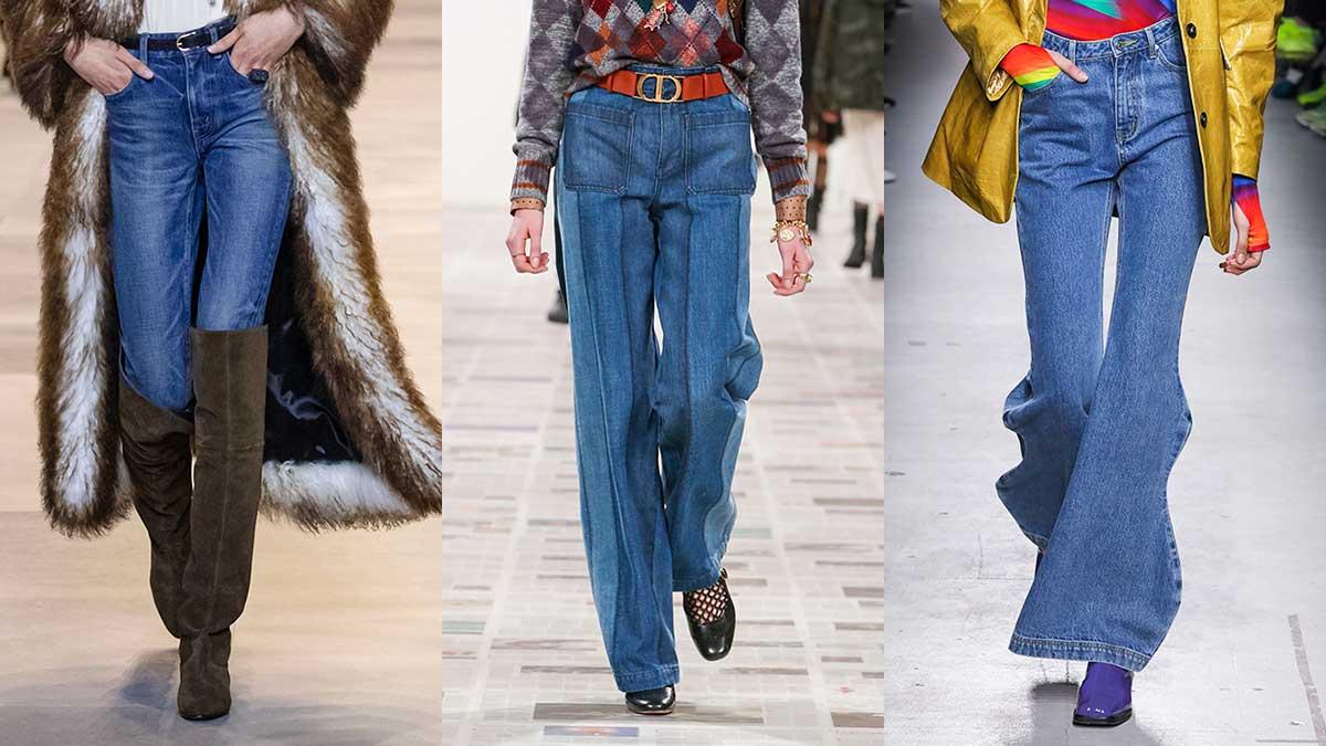 Modetrends herfst winter 2020 2021. 3x Spijkerbroeken