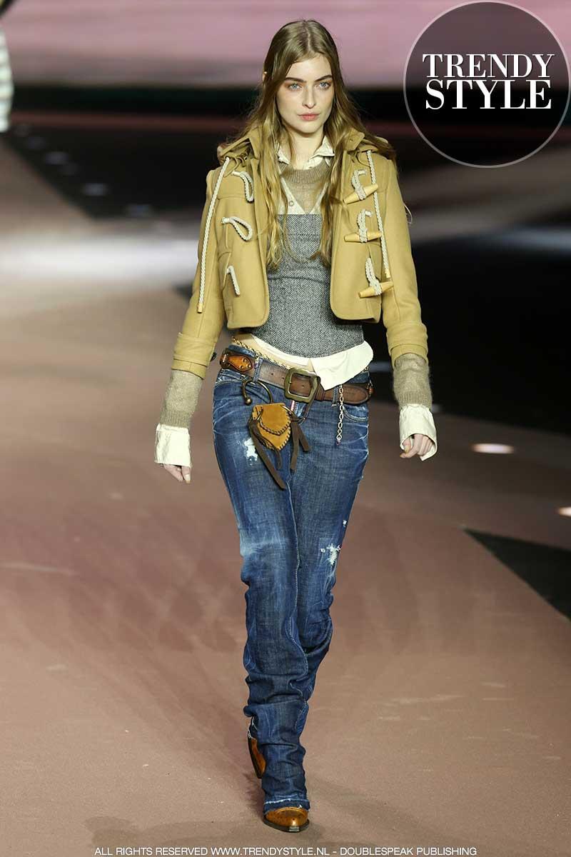 Modetrends herfst winter 2020 2021. Spijkergoed looks en denim