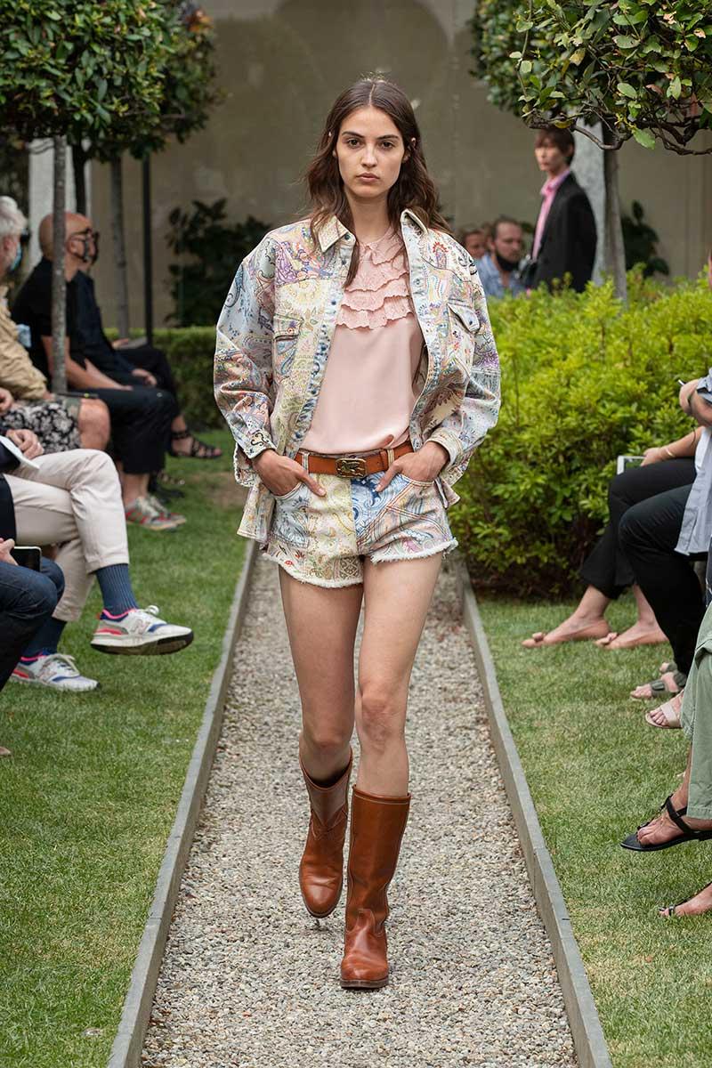 Modetrends voorjaar 2021. Spijkerjacks en spijkergilets