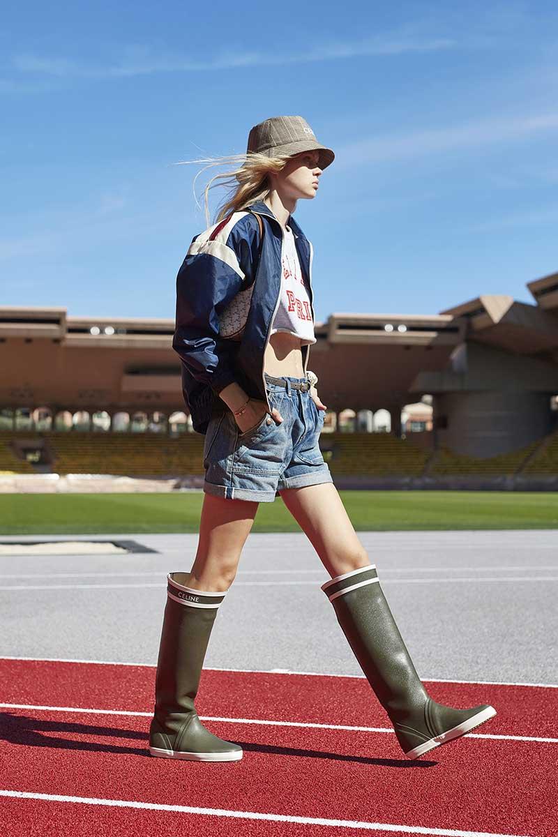 Modetrends lente zomer 2021. Spijkershorts