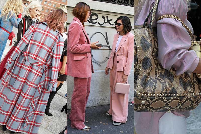 Mode herfst winter 2018 2019: de mode trends en streetstyle