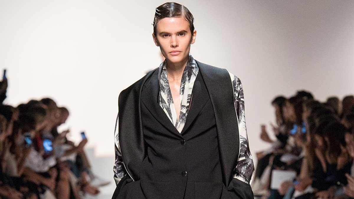 Modetrends zomer 2020. Total black voor de zomer