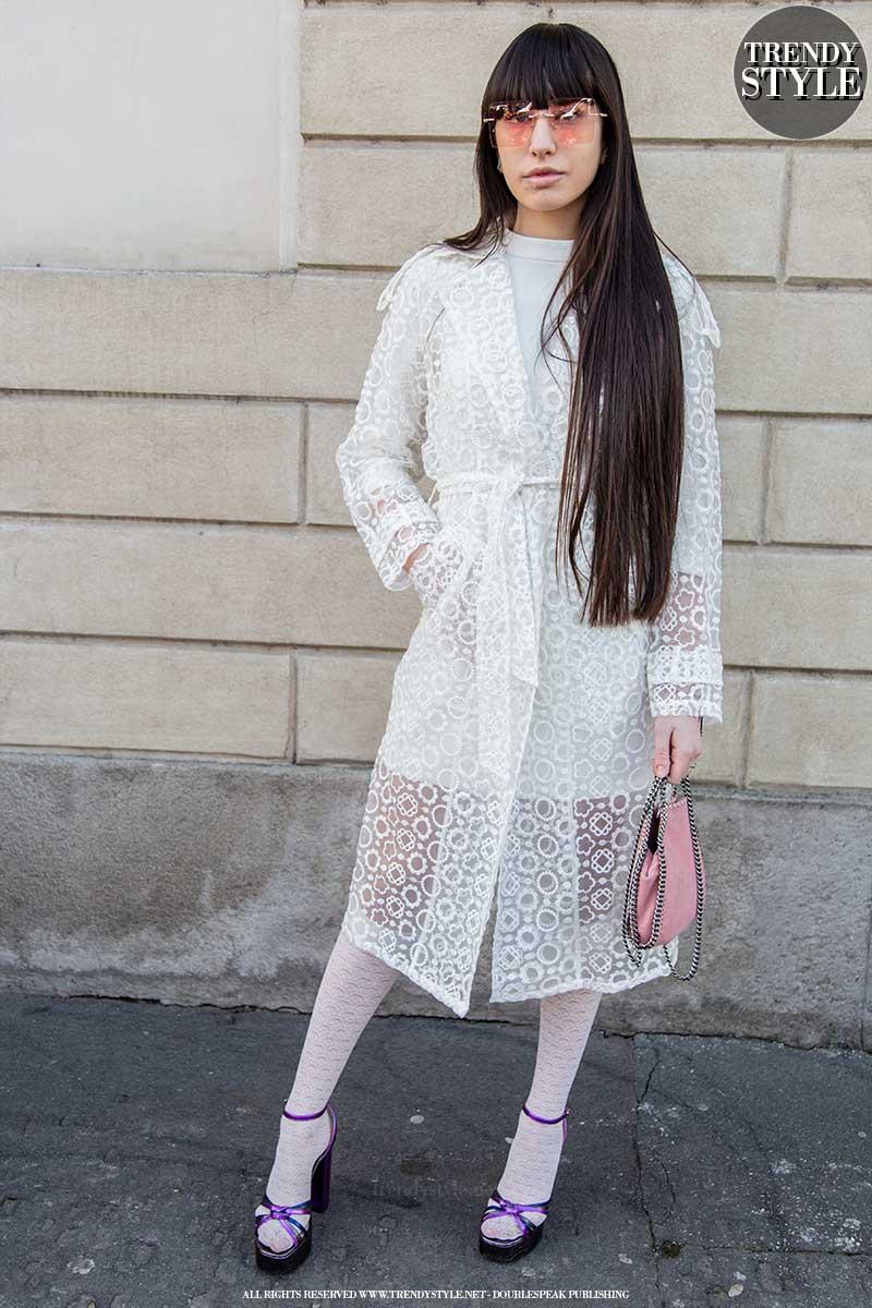 Modetrends 2020. Van top tot teen in het wit voor een trendy zomerlook