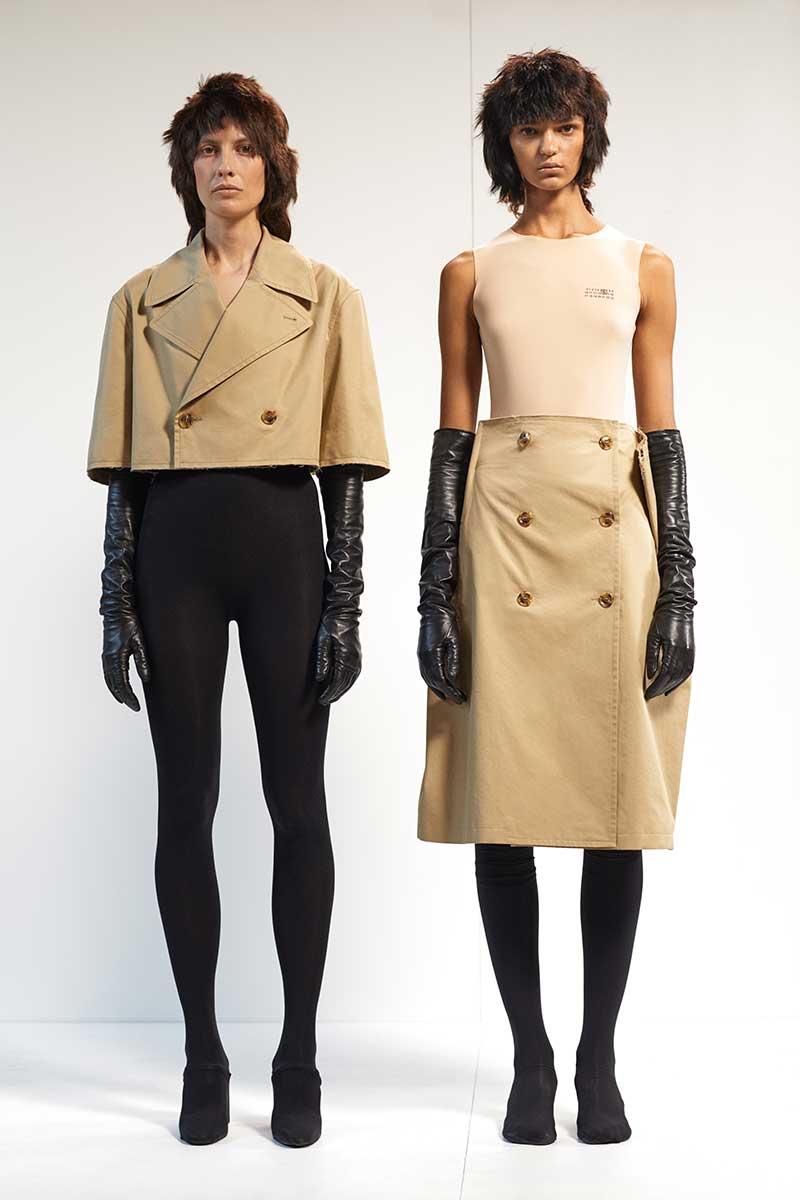 Modetrends lente zomer 2021. Trench coats