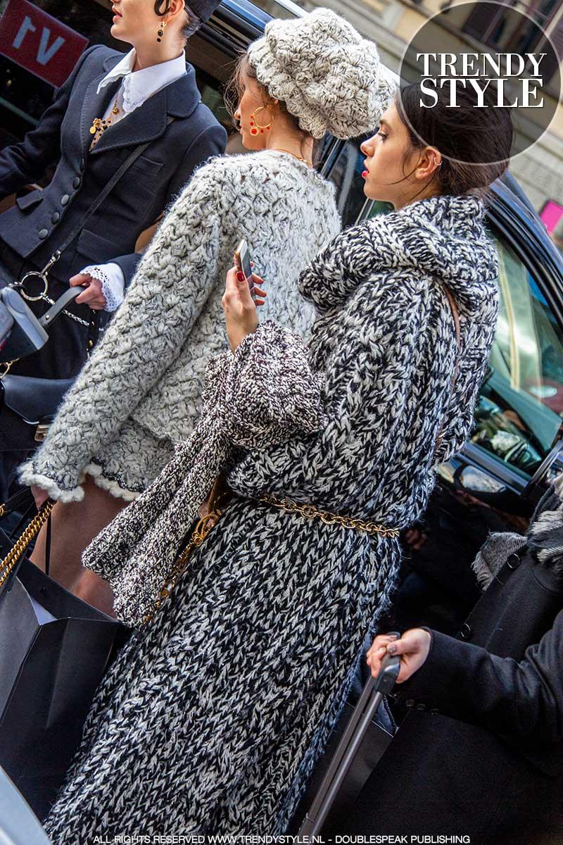 Knitwear trends herfst winter 2020 2021. Truien en vesten
