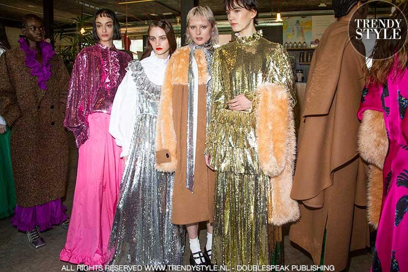 Modetrends winter 2020 2021. Extravagante seventies look
