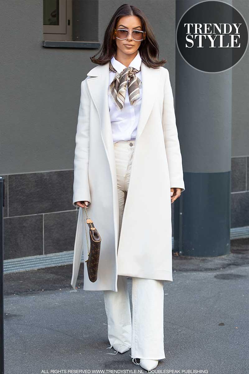 Modetrends winter 2020 2021. Wit is dé modekleur voor winter 2020