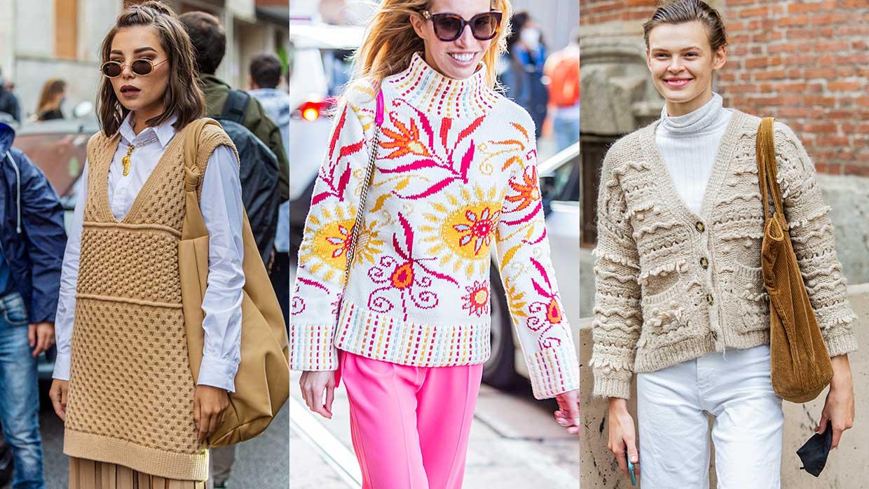Mode trends winter 2020. Trend alert: tricot. 10x Tips voor trendy knitwear look