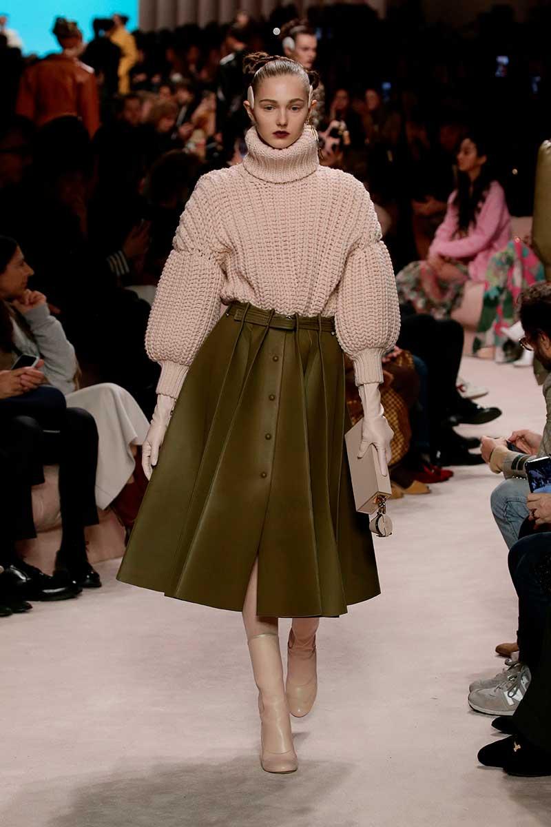 Modetrends herfst winter 2020. Zo style je de longuette rok