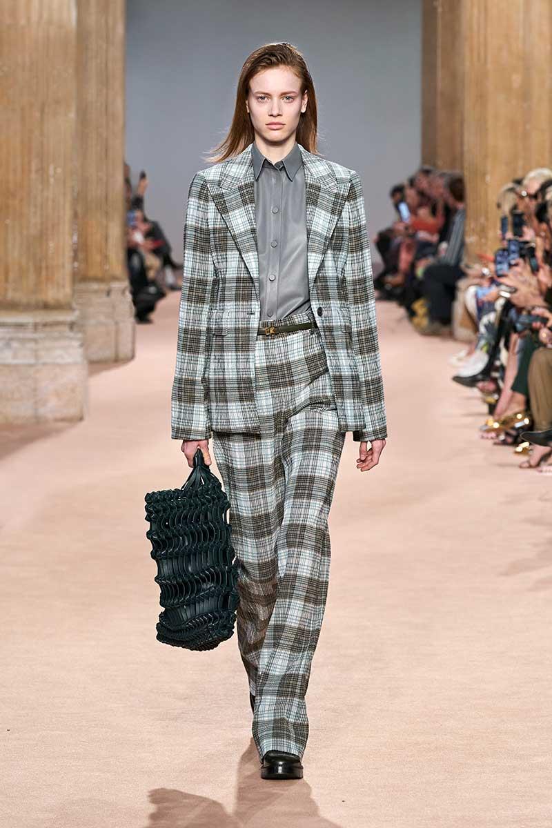 Modetrends herfst winter 2020 2021. Ruiten pakken en jassen