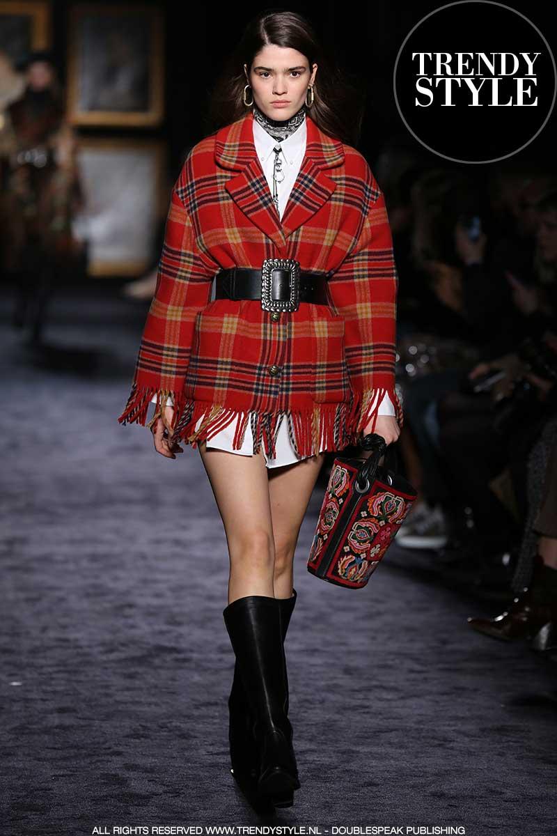 Modetrends winter 2020 2021. Tartan ruiten