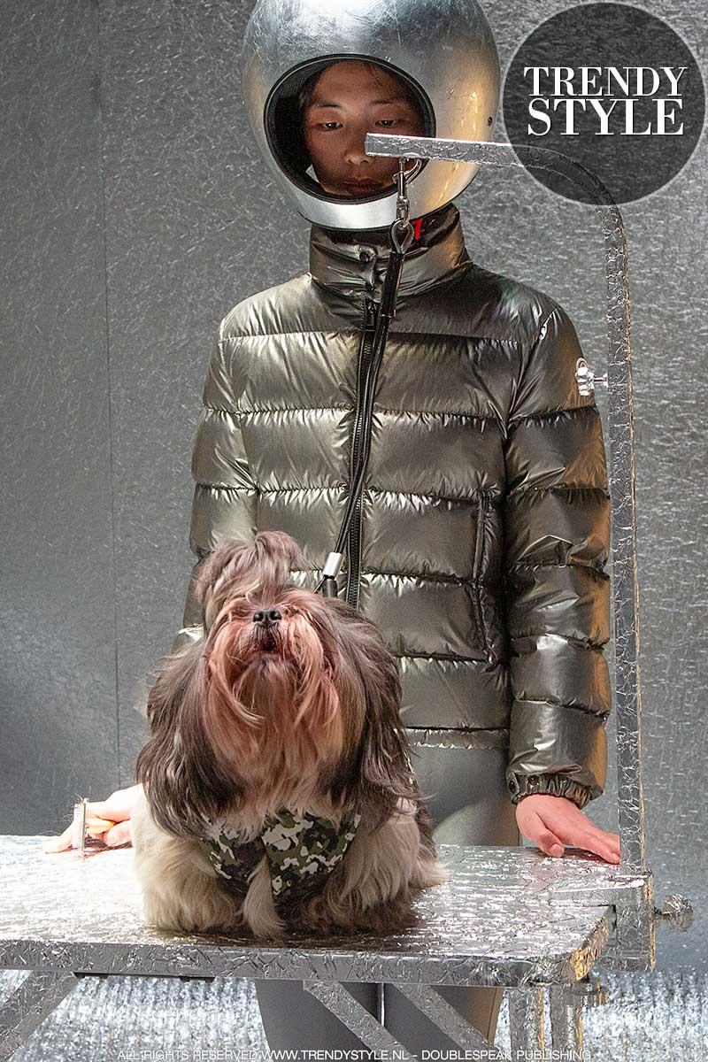 Modetrends 2021. Moncler Poldo Dog Couture. Foto: Charlotte Mesman