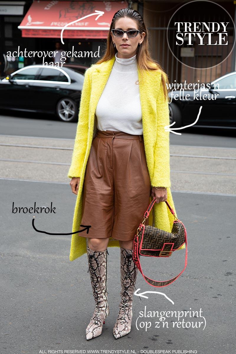 Mode trends vrouw winter 2019 2020