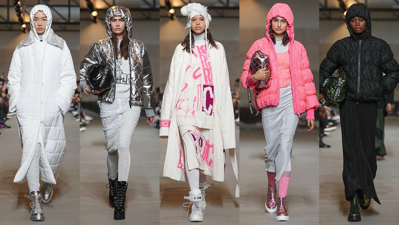 Modetrends winter 2021. Wintersport mode looks