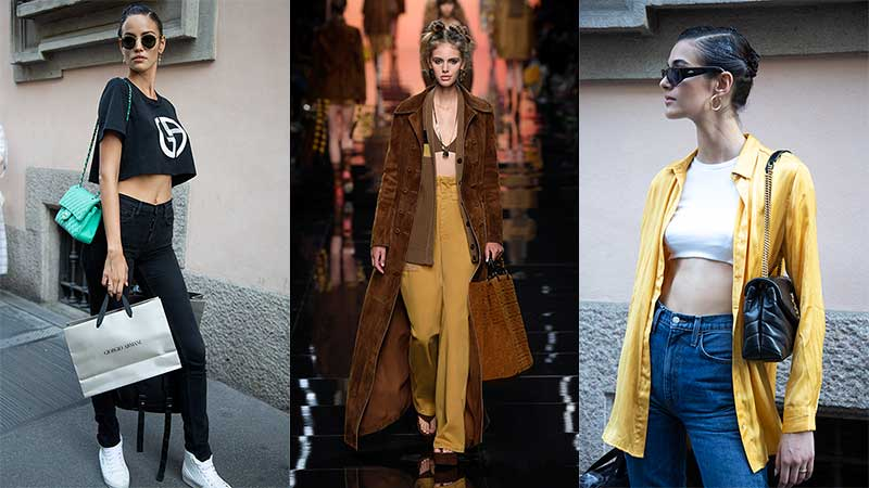 Modetrends zomer 2020. De crop top! Streetstyle mode