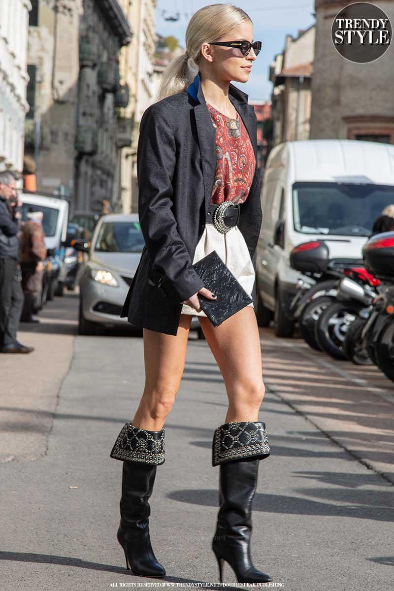 Modetrends zomer 2020. Streetstyle. Stylish vakantie looks
