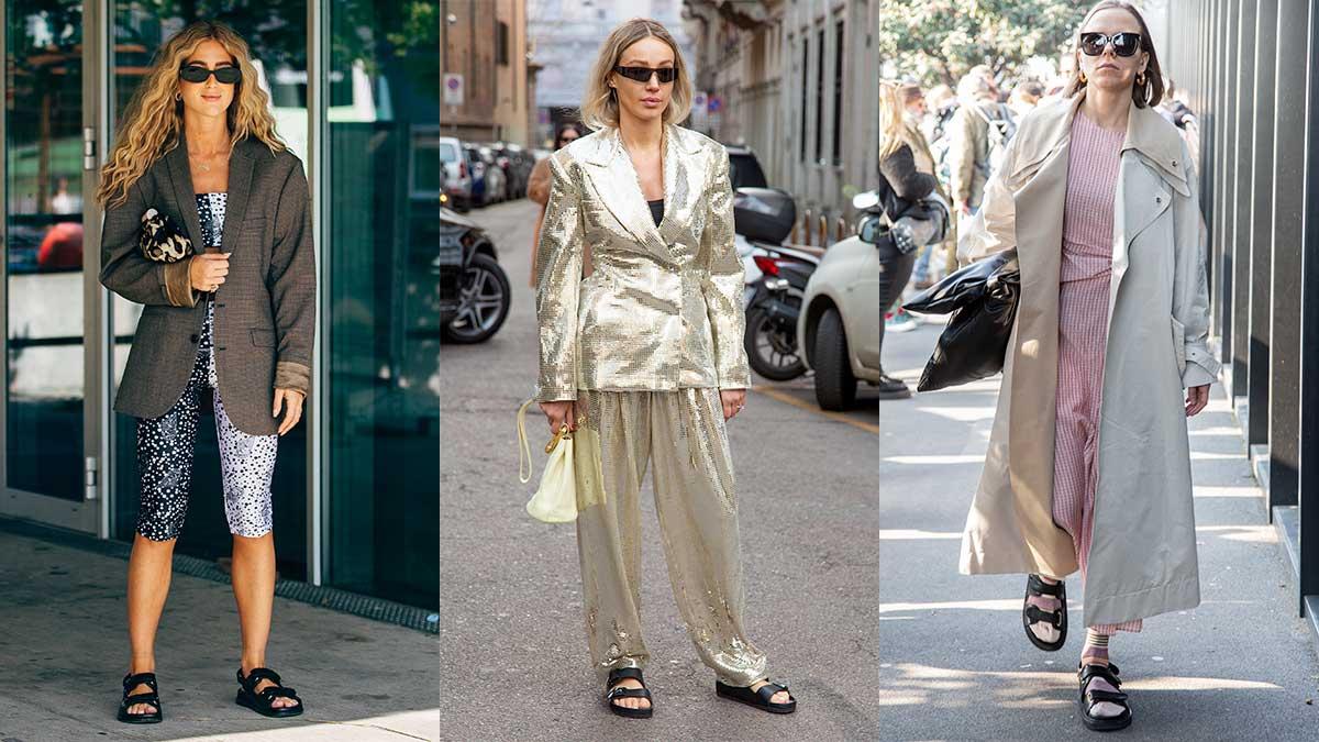 Streetstyle mode trends zomer 2020. Superlelijke sandalen