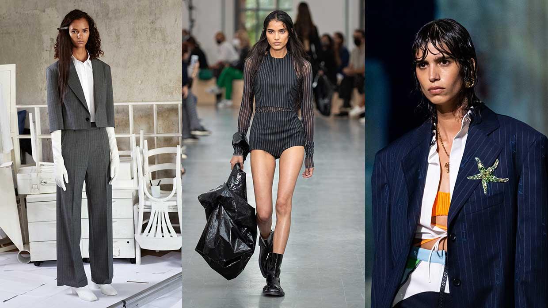 Modetrends lente zomer 2021. Trend alert: krijtstrepen