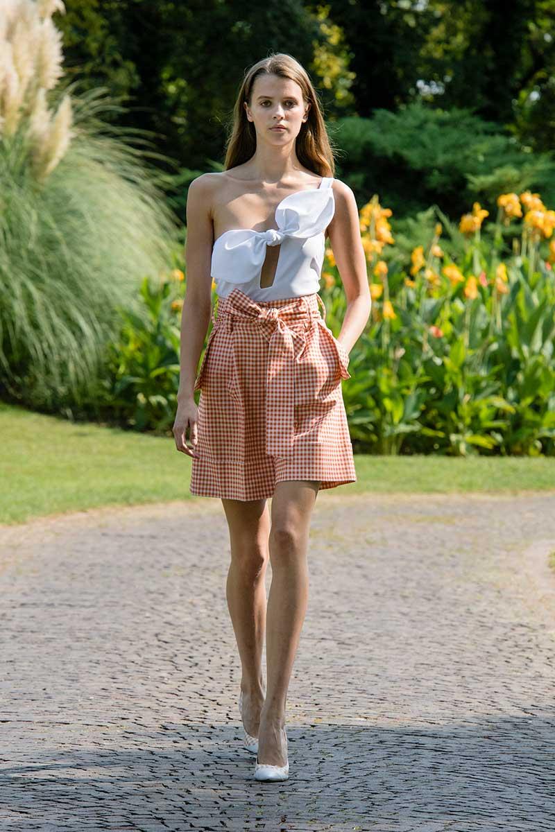 Modetrends lente zomer 2021. BB-ruitje