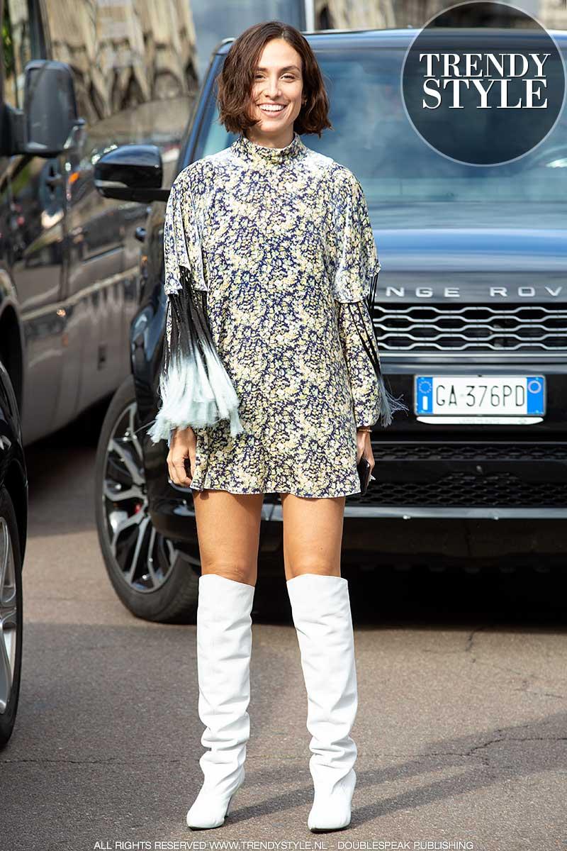 Modetrends lente zomer 2021. Korte jurkjes