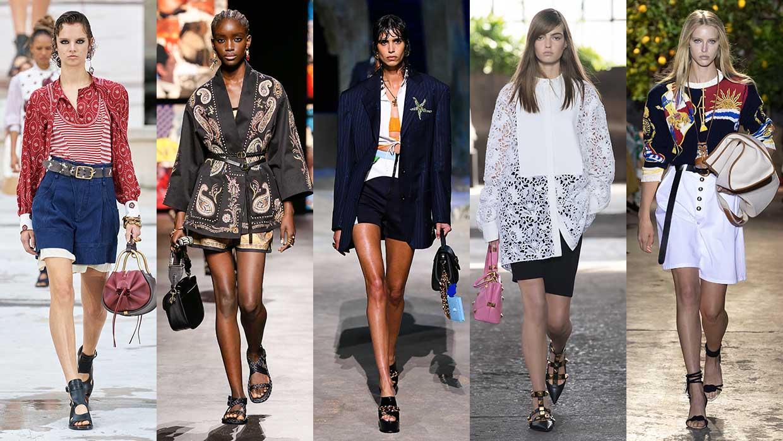 Modetrends zomer 2021. Superchic in korte broek