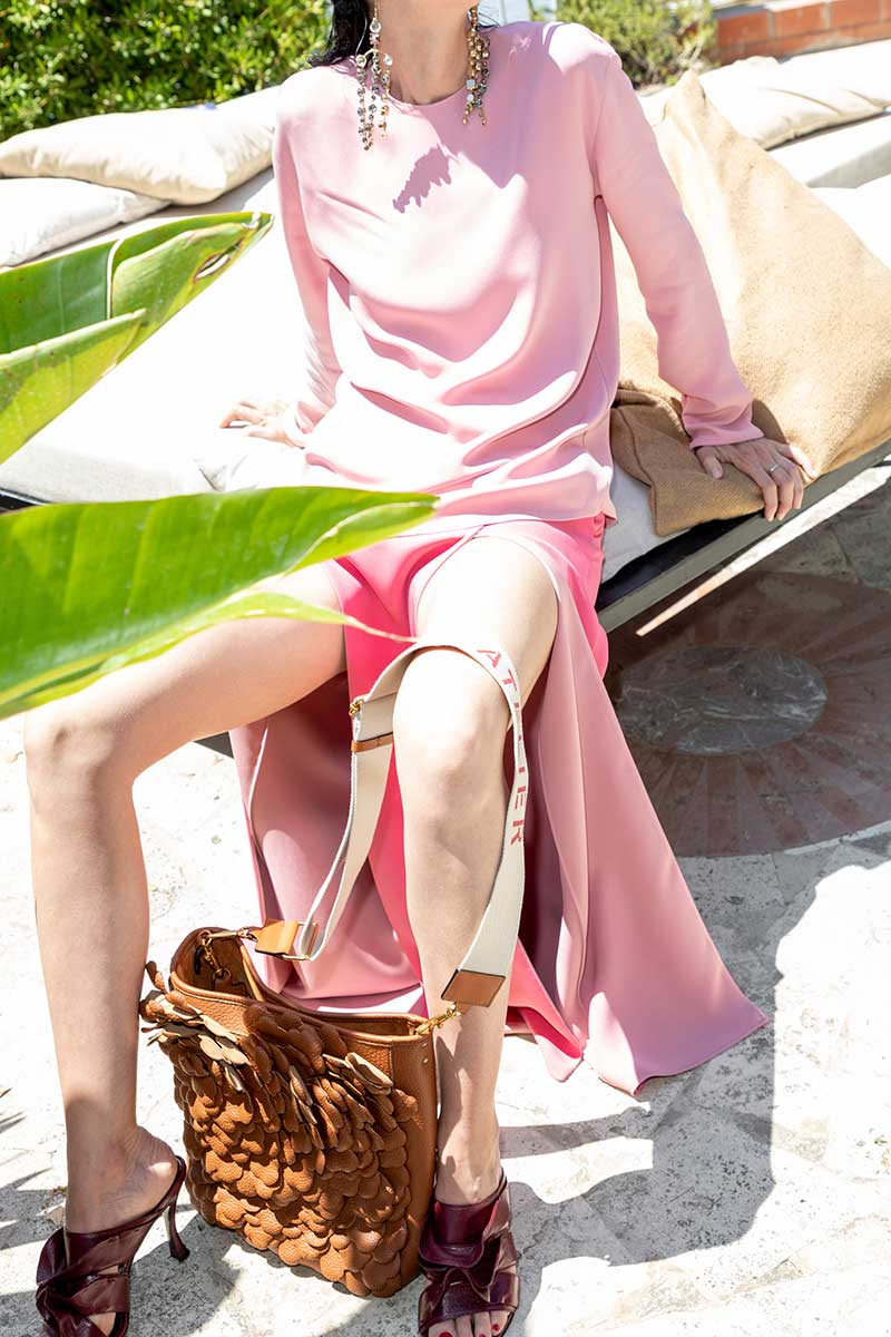 Modetrends zomer 2021. Photo courtesy of: Valentino Resort 2021