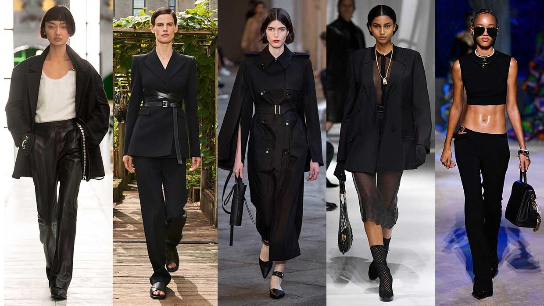 Modetrends 2021. Zwart is cooler dan ooit